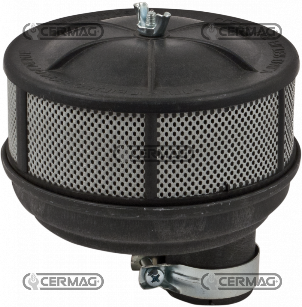 F30 Oil Bath Air Cleaner : Oil bath air filter with misaligned hole cermag