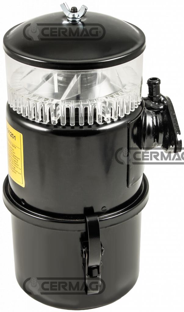 Filtro aria a bagno d 39 olio con prefiltro a ciclone cermag for Bagno d olio
