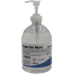flacone di gel alcolico igienizzante per le mani - 500 ml (12 pz)