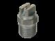 Ugello tutto in acciaio inox a ventaglio di 25 ° per lance (fig.5)